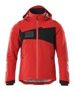 18035-249-20209 Veste grand froid - Rouge trafic/Noir