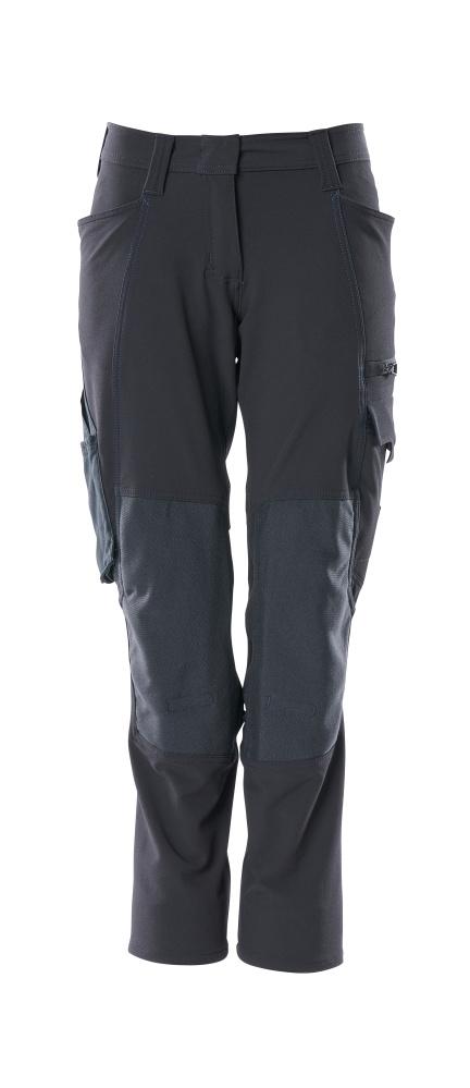 18078-511-010 Pantalon avec poches genouillères - Marine foncé