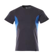 18082-250-01091 T-shirt - Marine foncé/Bleu olympien
