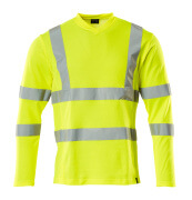 18281-995-14 T-shirt, manches longues - Hi-vis orange