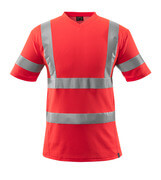 18282-995-222 T-shirt - Hi-vis rouge