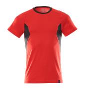 18382-959-20209 T-shirt - Rouge trafic/Noir