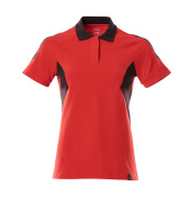 18393-961-20209 Polo - Rouge trafic/Noir