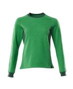 18394-962-33303 Sweatshirt - Grasgrün/Grün