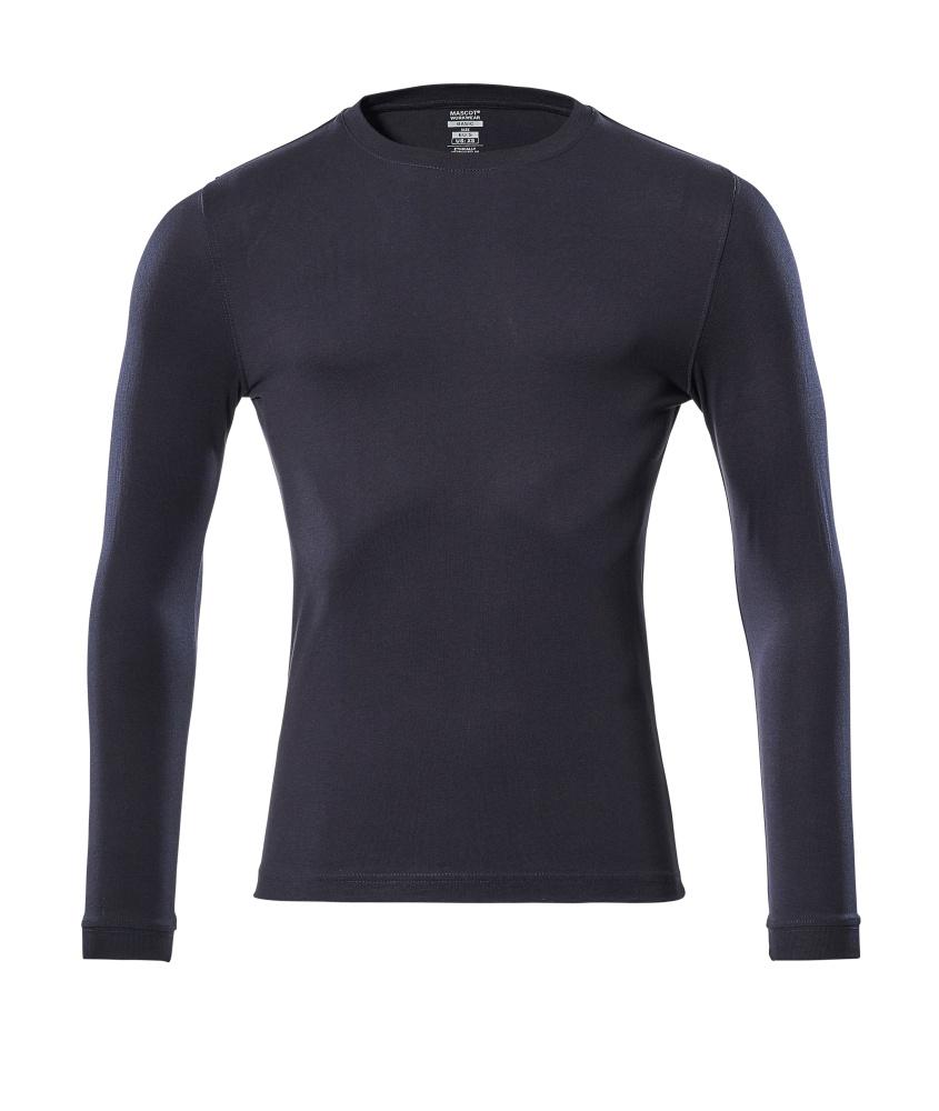 18581-965-010 Langarm T-Shirt - Schwarzblau