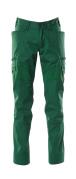 18679-442-03 Pantalon avec poches cuisse - Vert bouteille