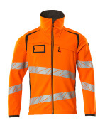19002-143-1418 Soft Shell Jacke - hi-vis Orange/Dunkelanthrazit