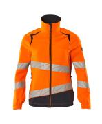 19008-511-14010 Jacke - hi-vis Orange/Schwarzblau