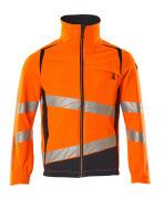 19009-511-14010 Jacke - hi-vis Orange/Schwarzblau