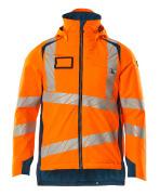 19035-449-1444 Winterjacke - hi-vis Orange/Dunkelpetroleum