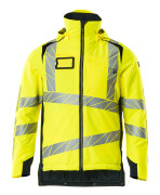 19035-449-14010 Veste grand froid - Hi-vis orange/Marine foncé