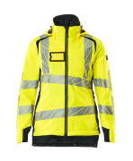 19045-449-14010 Veste grand froid - Hi-vis orange/Marine foncé