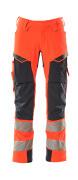 19079-511-14010 Arbeitshose - hi-vis Orange/Schwarzblau
