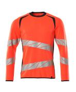 19084-781-14010 Sweatshirt - hi-vis Orange/Schwarzblau