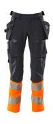 19131-711-01014 Hose mit Hängetaschen - Schwarzblau/hi-vis Orange