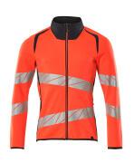 19184-781-14010 Sweatshirt - hi-vis Orange/Schwarzblau