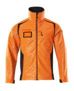 19202-291-14010 Veste softshell - Hi-vis orange/Marine foncé