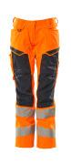 19578-236-14010 Arbeitshose - hi-vis Orange/Schwarzblau