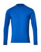 20181-959-91 Langarm T-Shirt - Azurblau