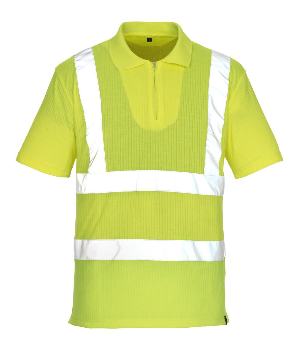 50105-853-17 Polo-Shirt - hi-vis Gelb