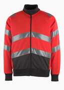 50116-950-A49 Sweatshirt - hi-vis Rot/Dunkelanthrazit