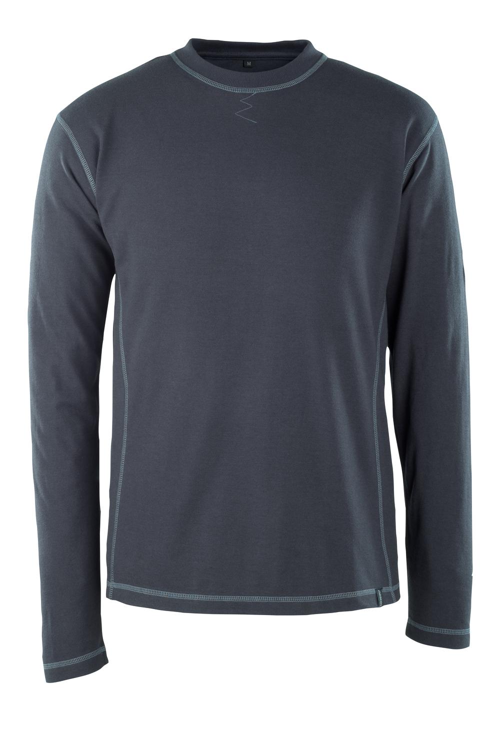 50119-927-010 Langarm T-Shirt - Schwarzblau