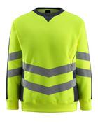 50126-932-14010 Sweatshirt - Hi-vis orange/Marine foncé