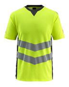 50127-933-1709 T-shirt - Hi-vis jaune/Noir