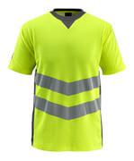 50127-933-1718 T-shirt - Hi-vis jaune/Anthracite foncé