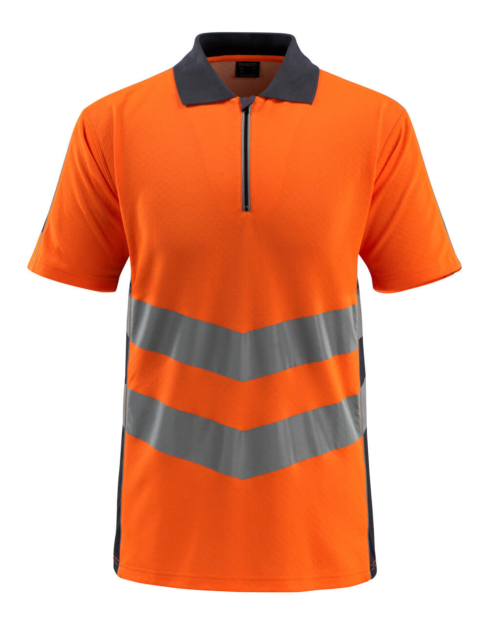 50130-933-14010 Polo - Hi-vis orange/Marine foncé