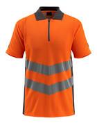50130-933-1418 Polo-Shirt - hi-vis Orange/Dunkelanthrazit