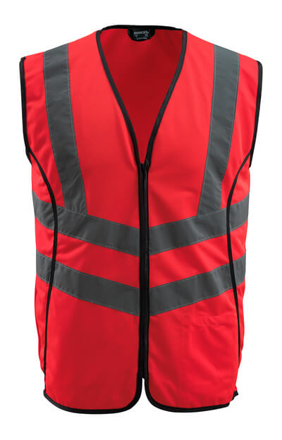 50145-982-222 Gilet de circulation - Hi-vis rouge