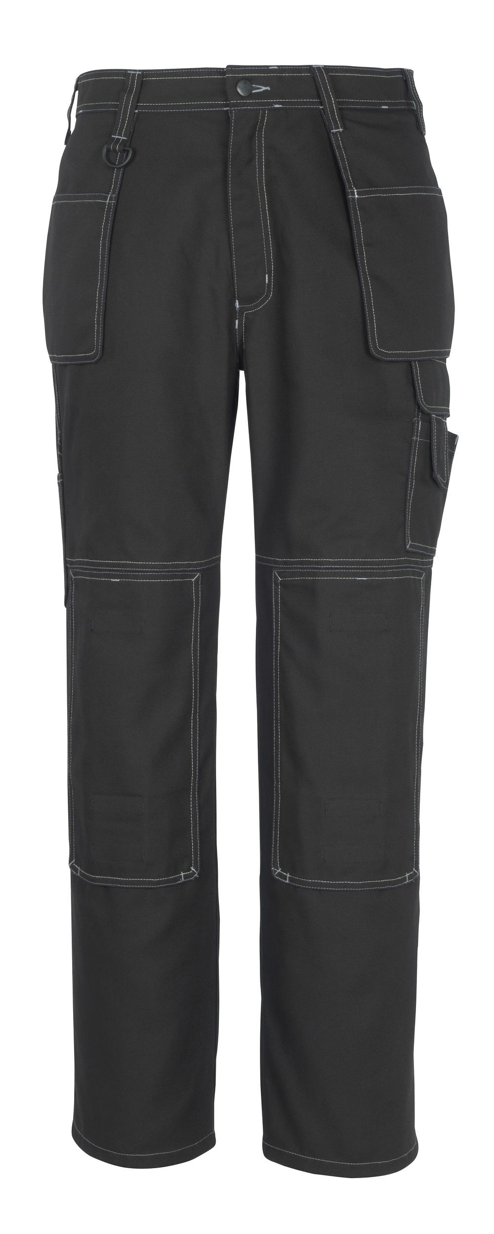 50194-884-09 Pantalon avec poches genouillères et poches flottantes - Noir