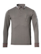 50352-833-118 Sweatshirt polo - Anthracite clair