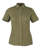 50374-863-119 Chemise, manches courtes - Vert olive clair
