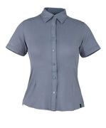 50374-863-180 Chemise, manches courtes - Gris-bleu