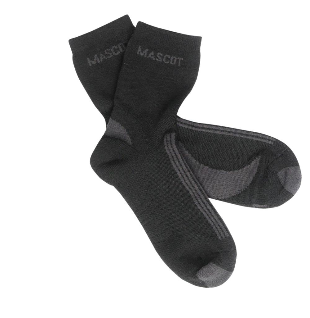 50410-881-0918 Chaussette - Noir/Anthracite foncé