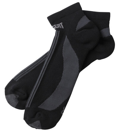 50411-881-0918 Socken - Schwarz/Dunkelanthrazit