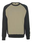 50503-830-5509 Sweatshirt - Hellkhaki/Schwarz