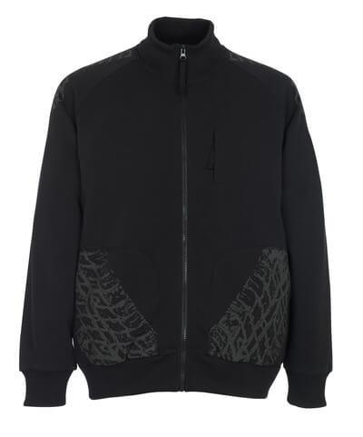 50549-830-09 Sweatshirt - Schwarz