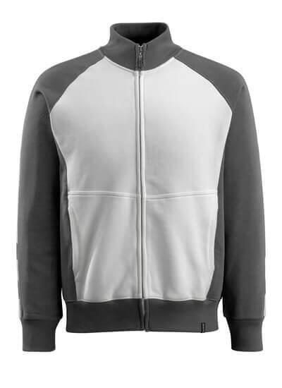50565-963-1809 Sweatshirt zippé - Anthracite foncé/Noir