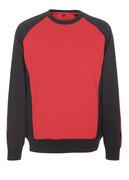 50570-962-0209 Sweatshirt - Rot/Schwarz