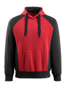 50572-963-0209 Sweat capuche - Rouge/Noir