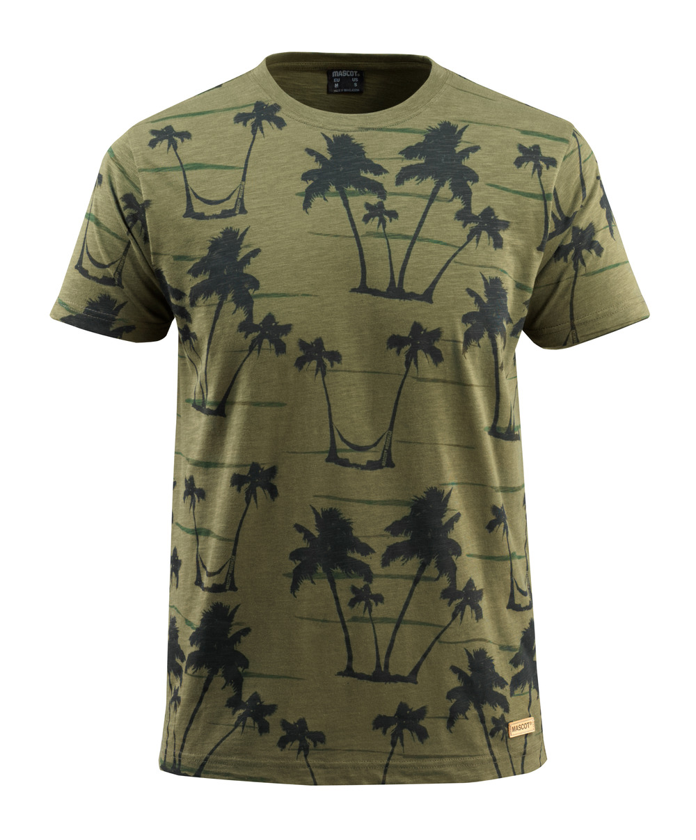 50596-983-33 T-Shirt - Moosgrün