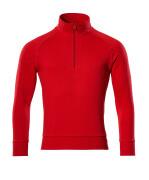 50611-971-202 Sweatshirt - Verkehrsrot