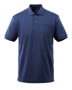 51586-968-01 Polo-Shirt mit Brusttasche - Marine