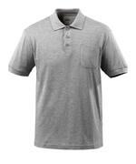 51586-968-08 Polo-Shirt mit Brusttasche - Grau-meliert