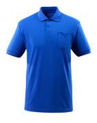 51586-968-11 Polo-Shirt mit Brusttasche - Kornblau