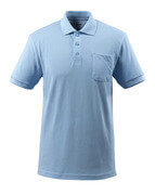 51586-968-71 Polo avec poche poitrine - Bleu ciel