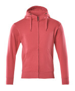 51590-970-96 Sweat capuche zippé - Framboise